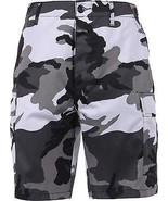 Mens City Camouflage Military BDU Cargo Shorts - $21.99 - $25.99