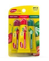 Carmex 3-Pack Daily Care Lip Balm SPF15 Cherry Strawberry Wintergreen - $6.49