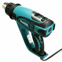 Makita HG6500 Heat Gun 220V , 2000W , 60Hz 4 Nozzle with LCD Display Soft Grip image 3
