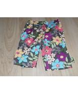 Size 18-24 Months Gymboree Aloha Sunshine Brown Floral Capris Summer Pan... - $12.00