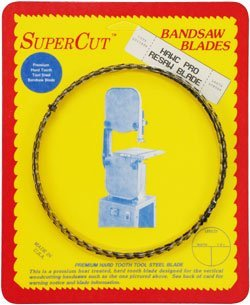 "Primary image for SuperCut B150H12T3 Hawc Pro Resaw Bandsaw Blade, 150"" Long - 1/2"" Width; 3 Tooth"