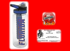 32-oz Florida Water Bottle with Freezer Stick - NEW - FREE U.S.A. SHIPPING - £9.76 GBP