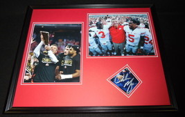 Urban Meyer Signed Framed 16x20 Photo Set JSA Ohio State OSU Buckeyes - $112.19