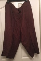 NWT $39.95 AVENUE A66 Solid Brown Modern Fit Th... - $19.26