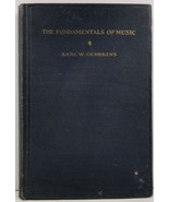 The Fundamentals of Music by Karl W. Gehrkens - $3.99