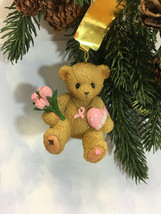 Cherished Teddies Ornament 2012 Healing Starts With Hope In Your HeartNI... - $35.59