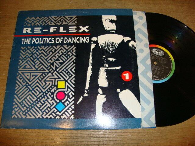 Re-Flex - The Politics Of Dancing - LP Record   EX VG