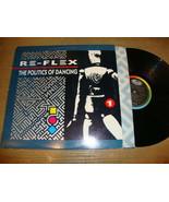 Re-Flex - The Politics Of Dancing - LP Record   EX VG - $6.81