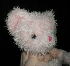 "12"" MATTEL 2002 SHINING STARS PINK TEDDY BEAR STUFFED ANIMAL PLUSH TOY G... - $64.65"