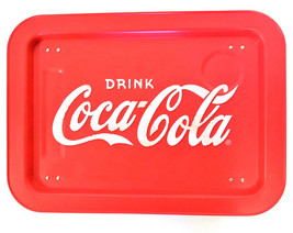 Outdoor Coca-Cola BBQ Picnic Metal Serving Tray - $15.04