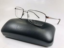 New NIKE 4194 200 Walnut Eyeglasses 52mm with NIKE Case - $113.80