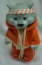 "Vintage Tomy 1984 Get Along Gang Zipper Cat In Orange 5"" Action Figure Toy - $24.74"