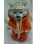 "Vintage TOMY 1984 Get Along Gang ZIPPER CAT IN ORANGE 5"" Action Figure Toy - $24.74"