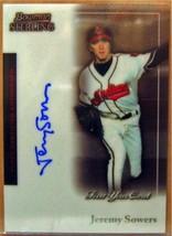 2004 Bowman Sterling # Js Jeremy Sowers Fy Au Rc - $20.38
