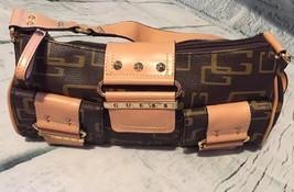 Guess G Logo Shoulder Hobo Bag Women's Purse Tan/Brown #8 - $14.83