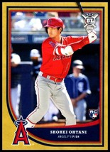 2018 Topps Big League Gold #141 Shohei Ohtani RC NM-MT Los Angeles Angels - $34.99