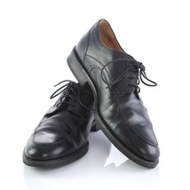 Johnston Murphy Signature Series Black Sheepskin Leather Oxfords Shoes Mens 10 M - $29.55