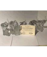 "Lennox ""Parade of Crystal Elephants"" - $90.00"