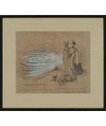 Mike Williams (b.1940) - 20th Century Pen and Ink Drawing, A Terrific Sw... - $383.95