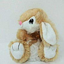 Dan Dee Collectors Choice Happy Hopster Light Brown Tan White Bunny Plush Rabbit - $13.06