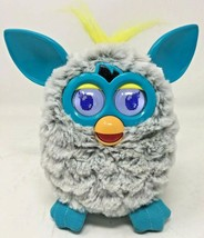 FURBY Gray Blue & Yellow Interactive Electronic Toy Hasbro 2012 Works Gr... - $28.04