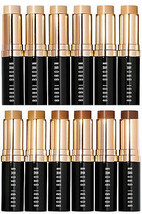 Bobbi Brown SKIN Foundation Stick Makeup GOLDEN NATURAL 4.75 Ful Sz FLAW... - $52.50