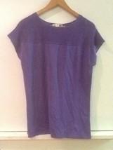 Coldwater Creek Purple Womens Cap Sleeve Top Size Medium M 10-12 - $14.95