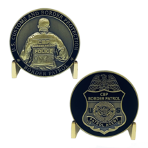 "1.75"" CUSTOM AND BORDER PATROL AGENT CBP POLICE CHALLENGE COIN - $23.74"