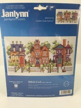 """Janlynn Counted Cross Stitch Kit #023-0142 18"""" X 10"""" Golden Gate Avenue Houses - $15.88"""