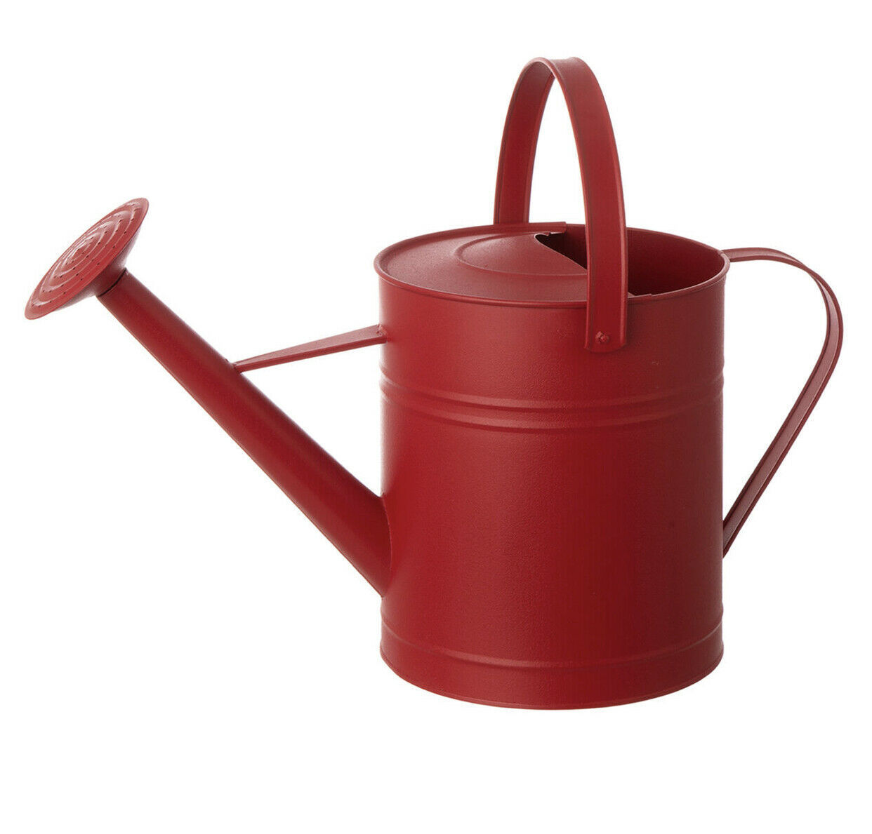 Primary image for Gardening water can 19IN RED WATERCAN MTL
