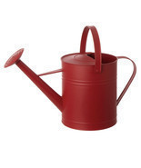 Gardening water can 19IN RED WATERCAN MTL - £50.83 GBP