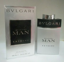Bvlagari Man Extreme 3.4 Fl oz/100 Ml Eau De Toilette Spray Men Read Desc - $37.61