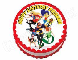 Superhero girls Super hero Edible Cake Image Cake Topper - $8.98