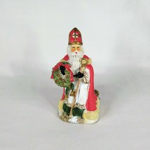 VTG 1995 Figurine International Santa Claus Collection Austria St. Nicho... - $11.65