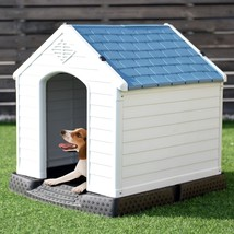 Indoor/Outdoor Waterproof Plastic Dog House Pet Puppy - $120.44