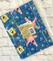 Spongebob Gift Wrap American Greetings Birthday Wrapping Paper 1 Sheet Sealed - $8.42