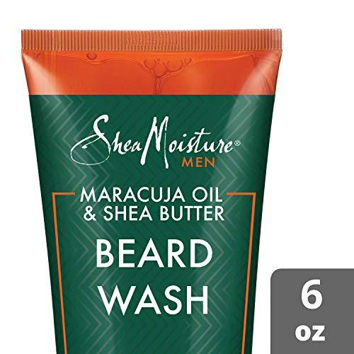 Shea Moisture Maracuja oil & shea butter beard wash, 6 Fluid Ounce