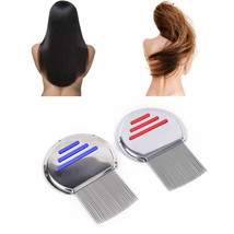 1X hair lice Tic comb brush terminator egg dust nit free removal stainle... - $7.87
