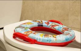 Kids Potty Training Toilet Seat Padded Soft Ring Baby Toddler Boys Girls - $23.50