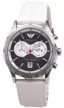 Emporio Armani Mens Classic Chronograph Sport Watch AR0582 $325 in Gift Box - $197.75