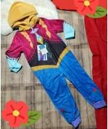 Disney Frozen Anna Blanket Sleeper Pajamas PJ's Costume New Sz. 4 Zip Front - $22.20