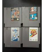 4 Games Nintendo NES Super Mario Bro/Duck Hunt T&C WWF Wrestle 720 Top G... - $28.42