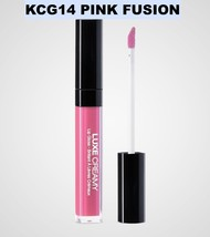 KISS NEW YORK PROFESSIONAL LUXE CREAMY LIP GLOSS KCG14 PINK FUSION - $2.96