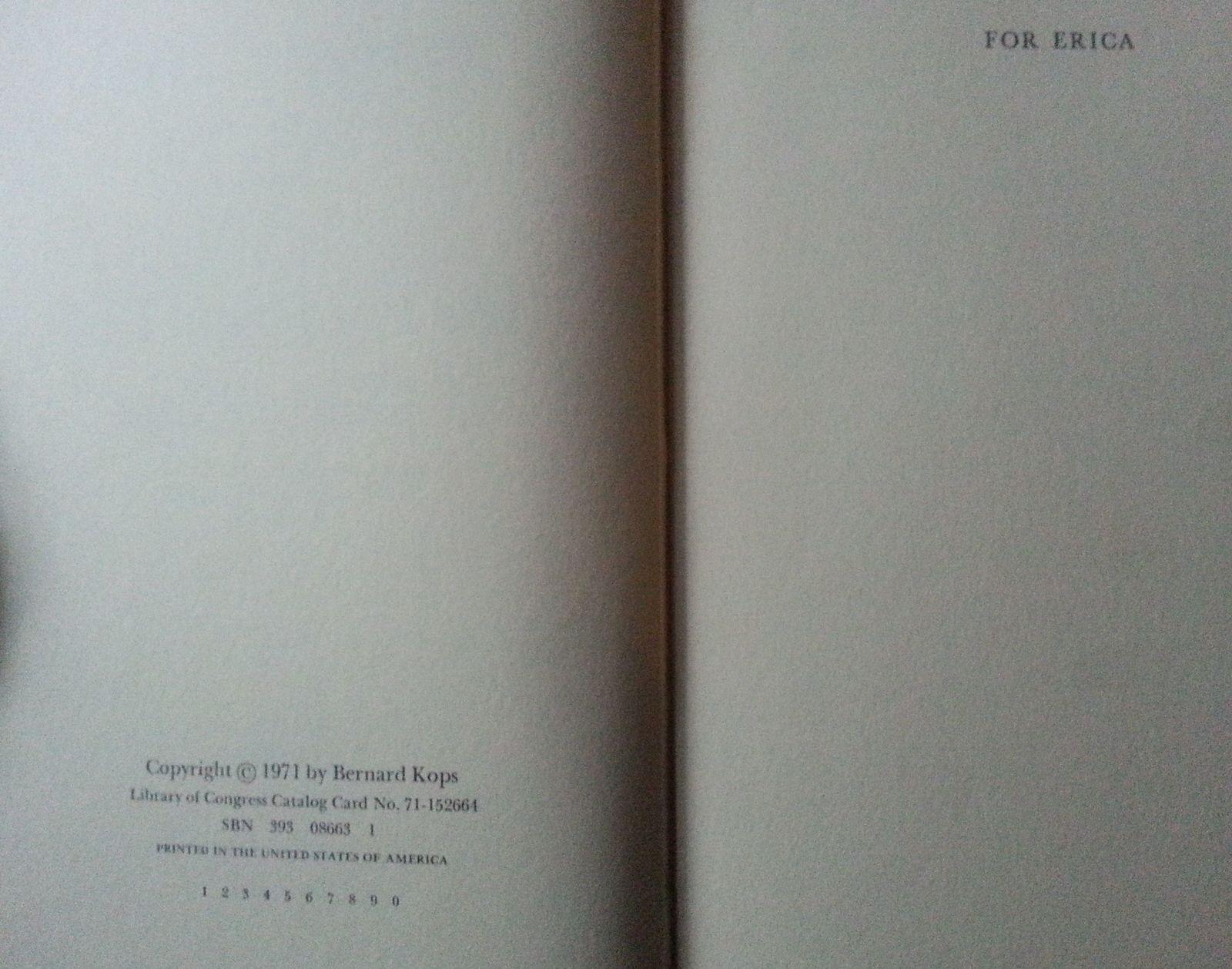 The Passionate Past of Gloria Gaye by Bernard Kops 1971 HB Splintered Mind