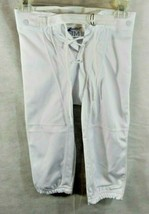 Football Soccer Rugby Pants Youth White Sz Youth Medium Champro New - $12.99