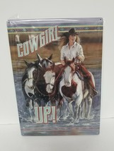 Metal Sign Man Cave Cowgirl Up She Shed Western Horse Garage Home Decor 12 x 17 - $11.60