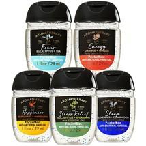 Bath & Body Works Essential Aromatherapy 5-Pack Pocketbac Hand Gels 1 fl... - $17.05