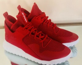 Adidas Tubular X Cool Red  White Trainers Men's High Sneakers S77842 Siz... - $64.17
