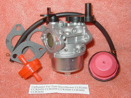 Carburetor For Toro Snowblower CCR2400 CCR2450 CCR2500 CCR3000 CCR3600 C... - $13.23