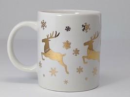Studio Nova Golden City Christmas Mug White & Gold Accent Dinnerware Collection - $12.86+